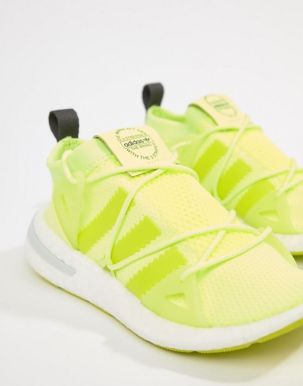 adidas Originals Arkyn Trainers In Yellow 3