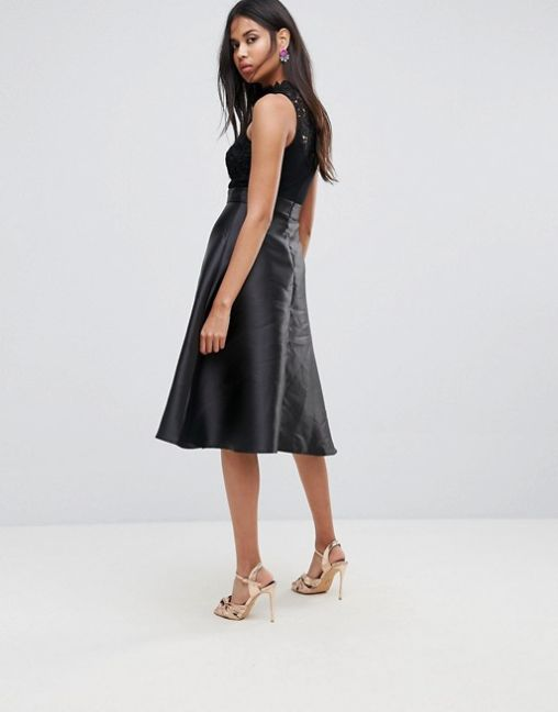 Ax Paris Prom Dress With Lace Upper 2