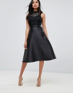 Ax Paris Prom Dress With Lace Upper 3