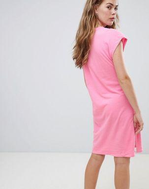 Calvin Klein Doon true icon print t-shirt dress 2