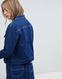 Wrangler carpenter jacket with contrast stitch 1