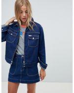 Wrangler carpenter jacket with contrast stitch2