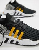 adidas Originals EQT Support Mid ADV Trainers In Black CQ2999 2