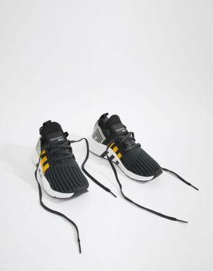 adidas Originals EQT Support Mid ADV Trainers In Black CQ2999 3