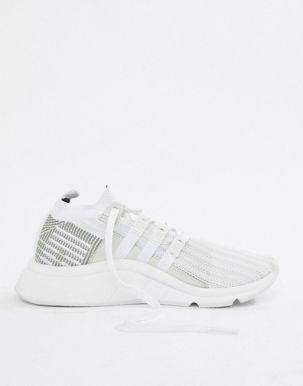 adidas Originals EQT Support Mid ADV Trainers In White CQ2997 1