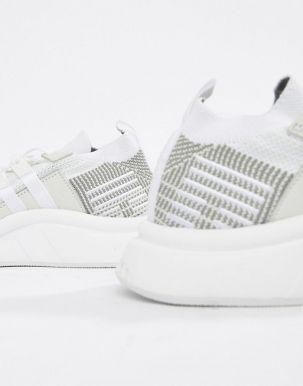 adidas Originals EQT Support Mid ADV Trainers In White CQ2997 3