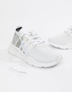 adidas Originals EQT Support Mid ADV Trainers In White CQ2997