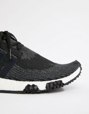 adidas Originals NMD Racer PK Trainers In Black AQ0949 2