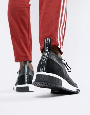 adidas Originals NMD Racer PK Trainers In Black AQ0949 3