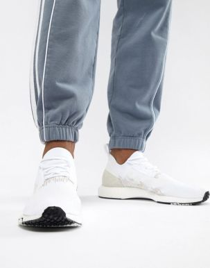 adidas Originals NMD Racer PK Trainers In White B37639 1