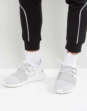 adidas Originals Tubular Doom Primeknit Trainers In Grey BY3553 1