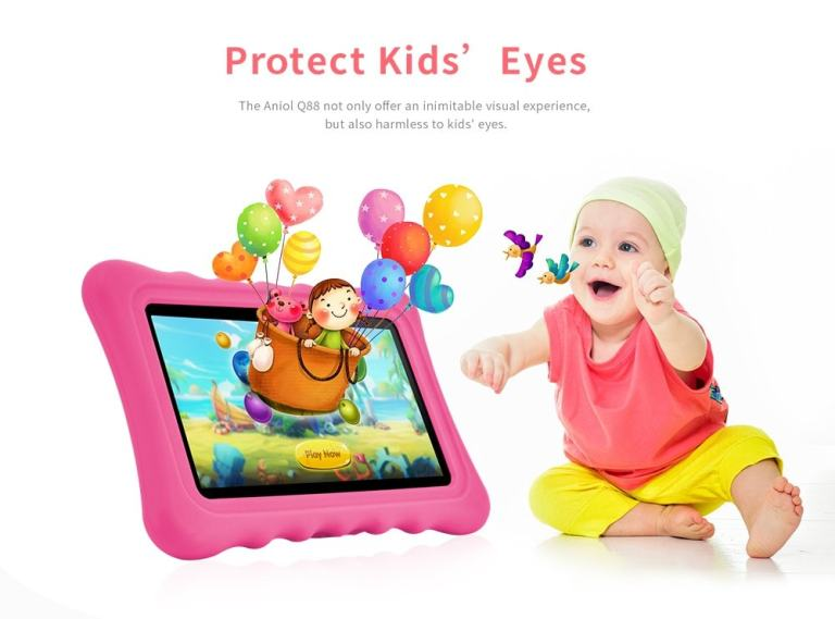 Ainol Q88 Kid Tablet PC - GREEN 4