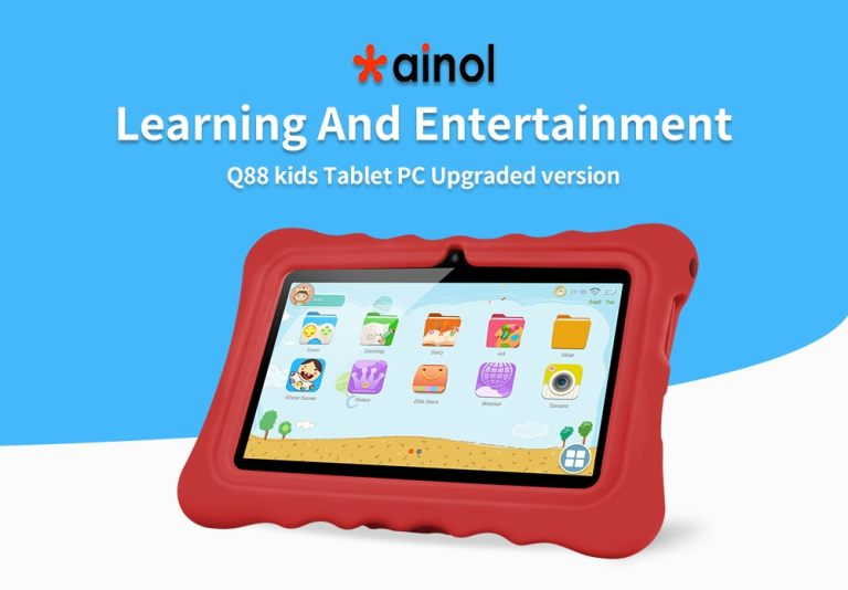 Ainol Q88 Kid Tablet PC - GREEN
