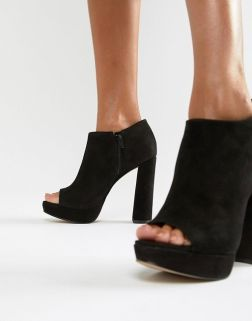 Aldo platform ankle boots