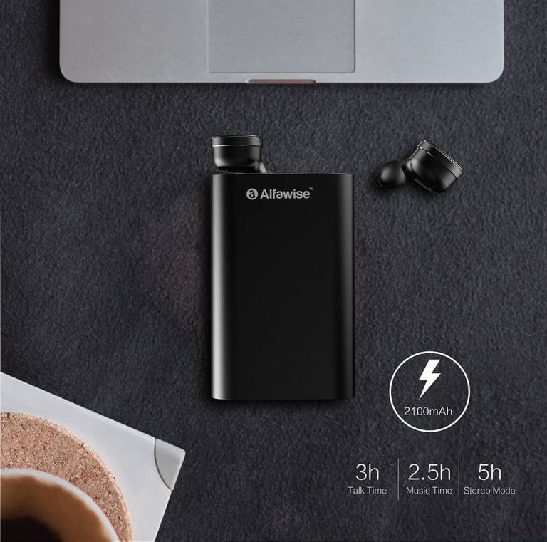 Alfawise Mini True Wireless Bluetooth Earphones10