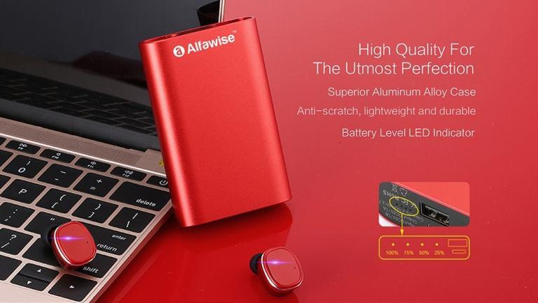Alfawise Mini True Wireless Bluetooth Earphones11