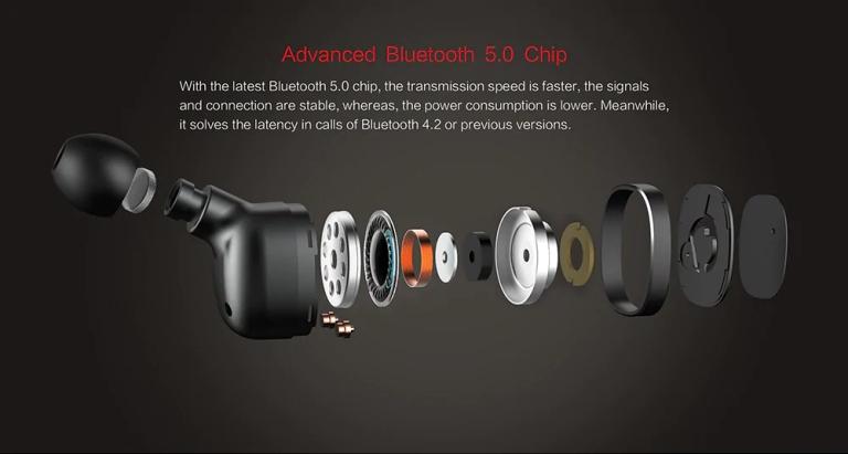 Alfawise Mini True Wireless Bluetooth Earphones6