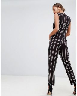 AX Paris striped tailored jumpsuit 2