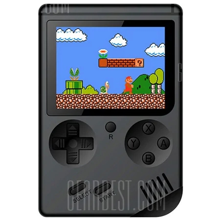 Children Mini Nostalgic Handheld Game Console - BLACK