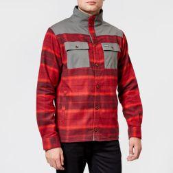 Columbia Men's Deschutes River Shirt Jacket - Rusty Large Plaid3