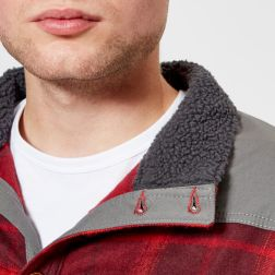 Columbia Men's Deschutes River Shirt Jacket - Rusty Large Plaid4