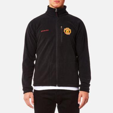 Columbia Men's Manchester United Fast Trek Full Zip Fleece - Black