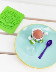 Disney Buzz Lightyear egg cup & toast cutter