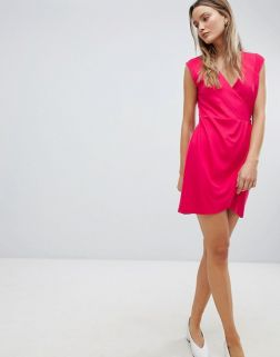 French Connection Sub Manhattan Wrap Dress