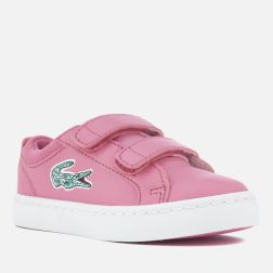 Lacoste Toddlers' Straightset Lace 118 1 Trainers - Pink1