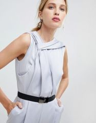 Little Mistress Belted Tailored Jumpsuit3
