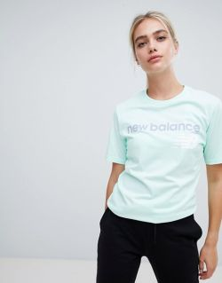 New Balance T-Shirt In Mint