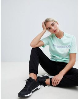 New Balance T-Shirt In Mint2
