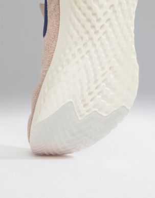 Nike Running Epic React Flyknit trainers in beige 2
