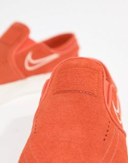 Nike Sb Janoski Slip On Trainers In Orange 2
