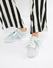 Puma Basket Heart Canvas Trainer2
