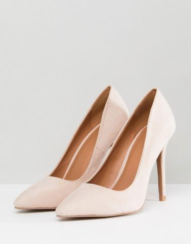 QUPID Pointed High Heeled Shoes1