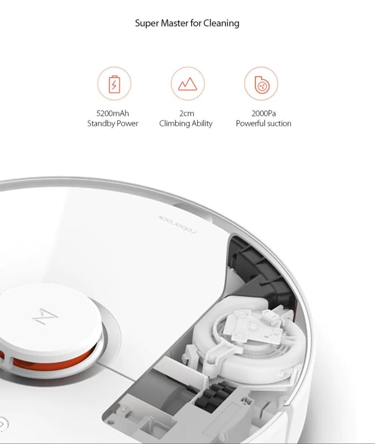 roborock S50 Smart Robot Vacuum Cleane10