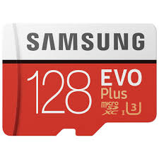 Samsung EVO Plus memory card 128GB 11