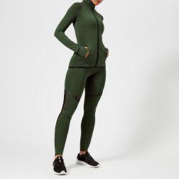 Superdry Sport Women's Track Jacket - Khaki3