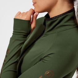 Superdry Sport Women's Track Jacket - Khaki4