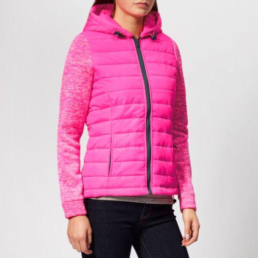 Superdry Women's Storm Hybrid Zip Hood Jacket