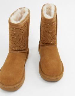 UGG Classic Short Chestnut Boots 2