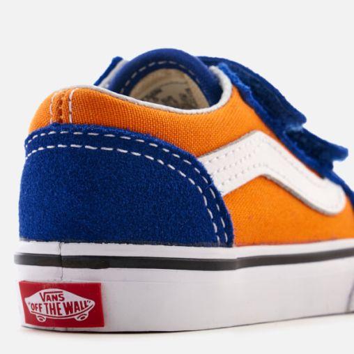 Vans Toddlers' Pop Velcro Old Skool Trainers3