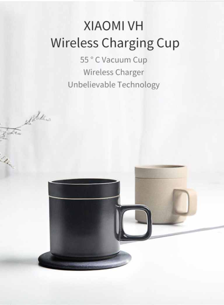 Wireless Charging Mug Electric Ceramic Cup for Home from Xiaomi Youpin1