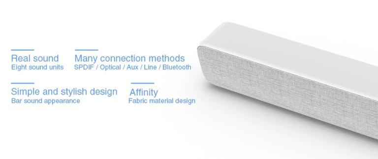 Xiaomi 33 inch TV Soundbar - WHITE2