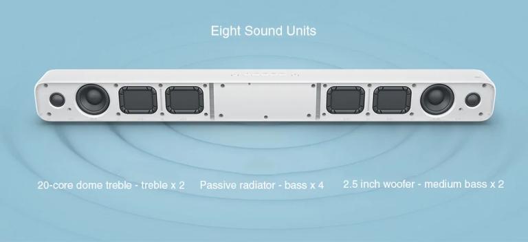 Xiaomi 33 inch TV Soundbar - WHITE3