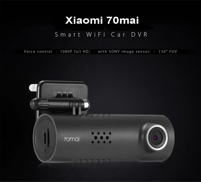 Xiaomi 70mai Dash Cam Smart WiFi Car DVR International Version 1