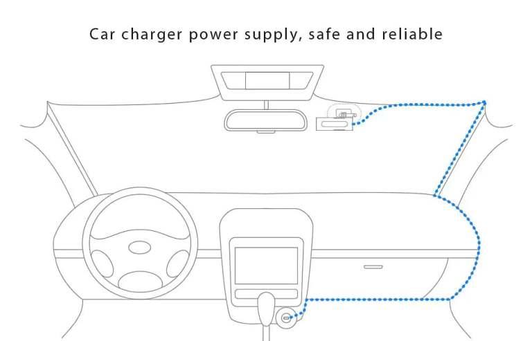 Xiaomi 70mai Dash Cam Smart WiFi Car DVR International Version 14