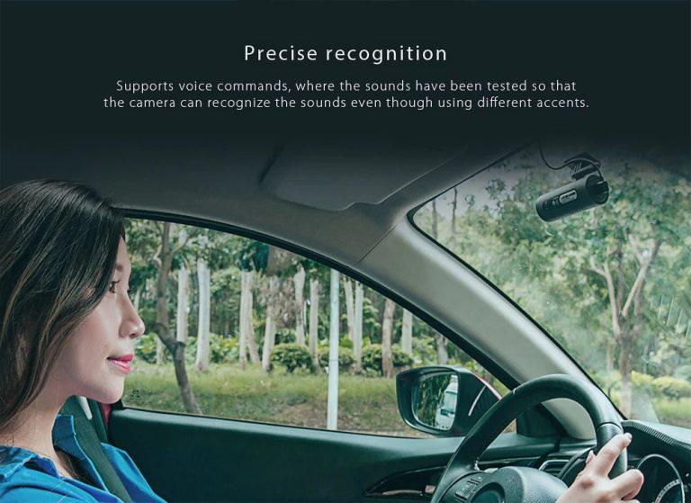 Xiaomi 70mai Dash Cam Smart WiFi Car DVR International Version 3