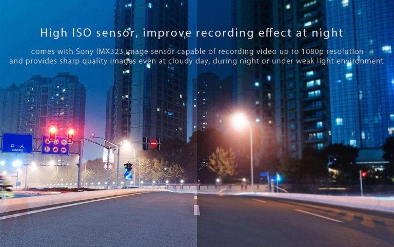 Xiaomi 70mai Dash Cam Smart WiFi Car DVR International Version 8